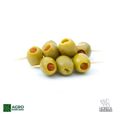 Masline verzi cu gogosari